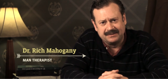 Dr Rich Mahagony - Man Therapy